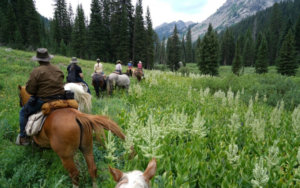 """Looking to slow down, unplug and without the crowds? How about a """"Pack Trip"""""""
